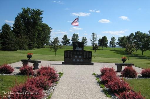 Veterans Memorial, Home Town Cemetery