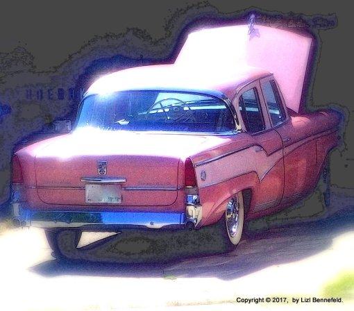 old car under repair