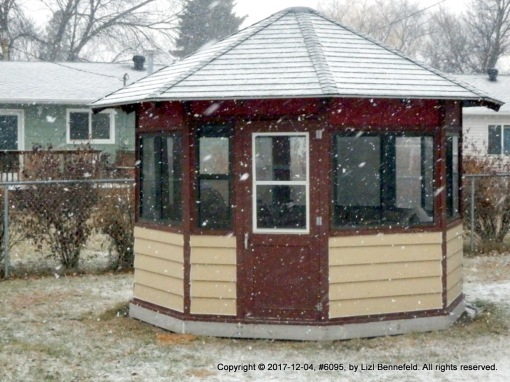 the first snowfall at the leading edge of a forecasted blizzard