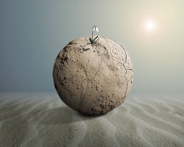 Sphere of Mud , Image by Angeles Balaguer from Pixabay