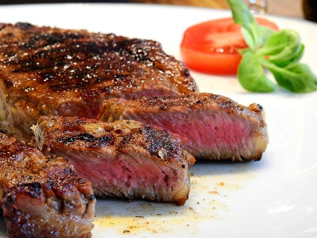 beefsteak for lunch