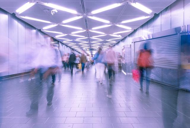 Martin Adams Unsplash subway people