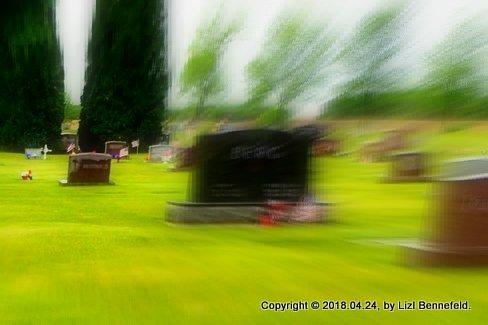 tombstones, Hawley Village Cemetery